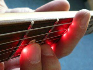 Laser Guitar Enhances Playing Precision