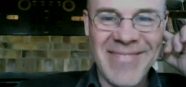 Thomas Dolby on Buzz Out Loud (screen shot)