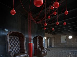 Elipson's Gothic Hanging Speakers