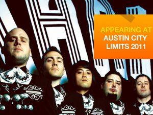 Spotlight on Austin City Limits Festival: Mariachi El Bronx
